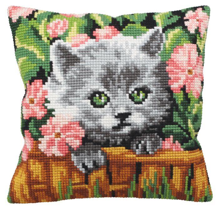 Набор для вышивки котики 198